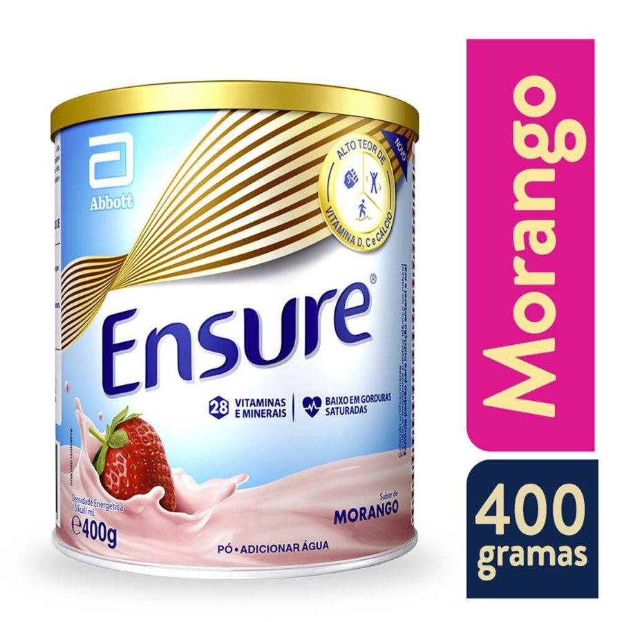 ENSURE SABOR MORANGO 400G - ABBOTT