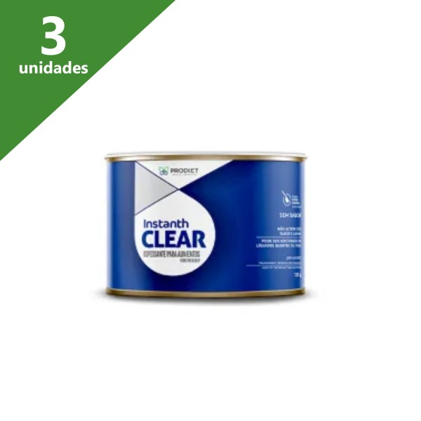 ESPESSANTE INSTANTH CLEAR 125G (KIT C/03 UNDS) - PRODIET