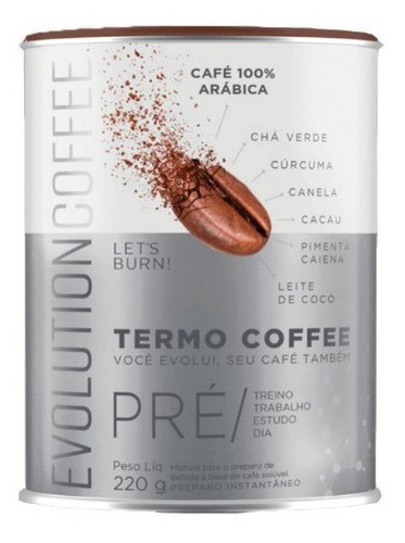 EVOLUTION TERMO COFFEE - 220G
