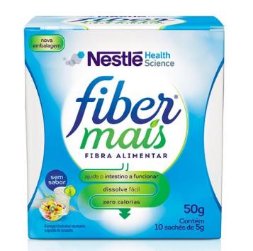 FIBER MAIS 50G (CX 10 saches 5GR)  - NESTLE
