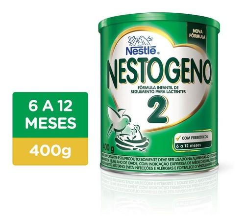 FÓRMULA INFANTIL NESTOGENO 2 400G - NESTLÉ