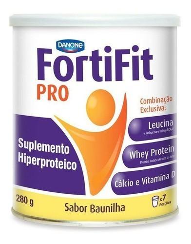 FORTIFIT PRO SABOR BAUNILHA LATA 280G - DANONE
