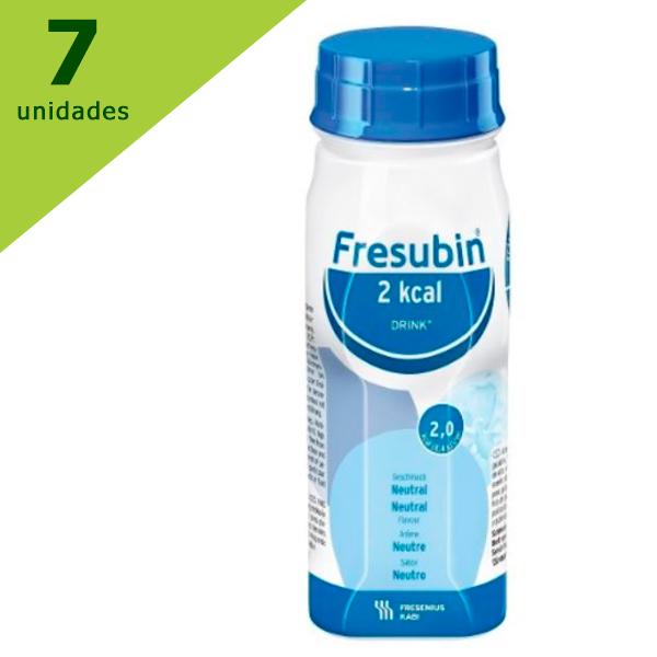 FRESUBIN 2 KCAL NEUTRO SEM SABOR (KIT C/7) -  FRESENIUS KABI