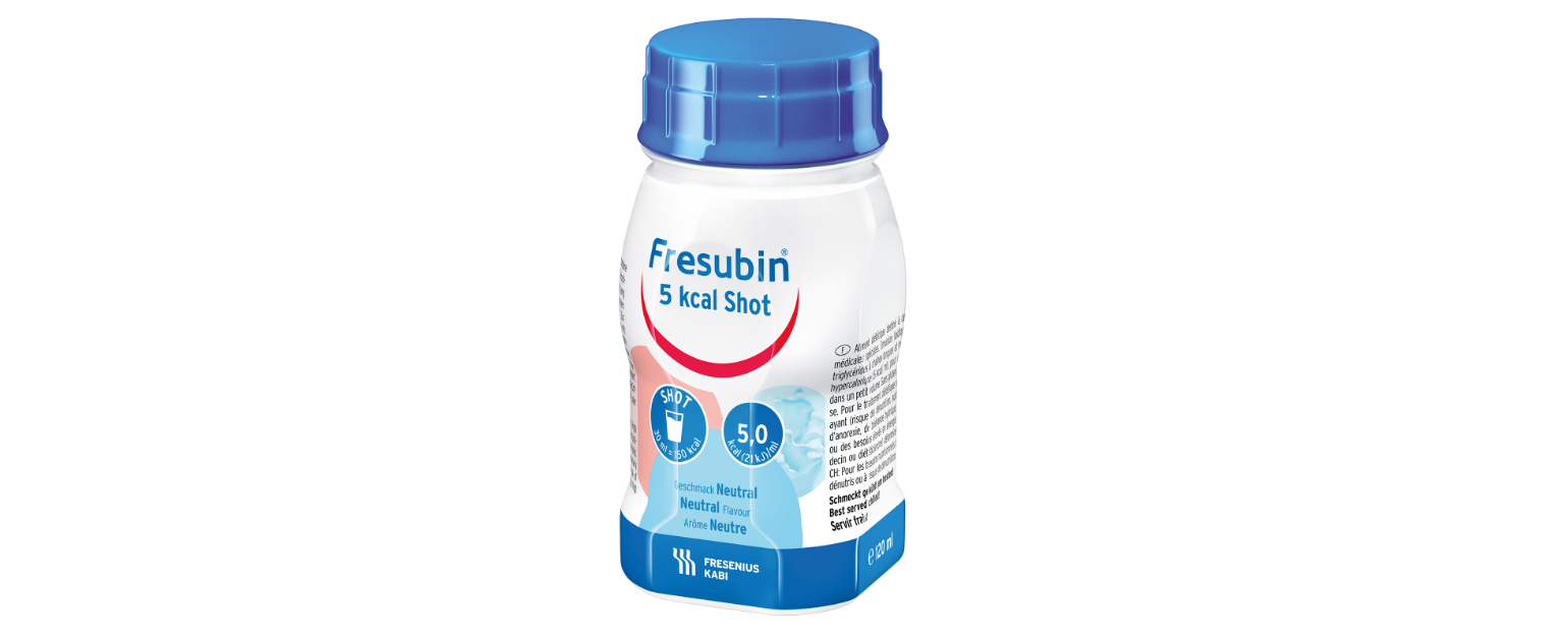 FRESUBIN 5.0KCAL/ML SHOT 120ML - FRESENIUS KABI
