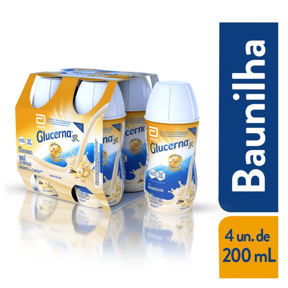 GLUCERNA SR BAUNILHA 200ML (CX C/4) - ABBOTT