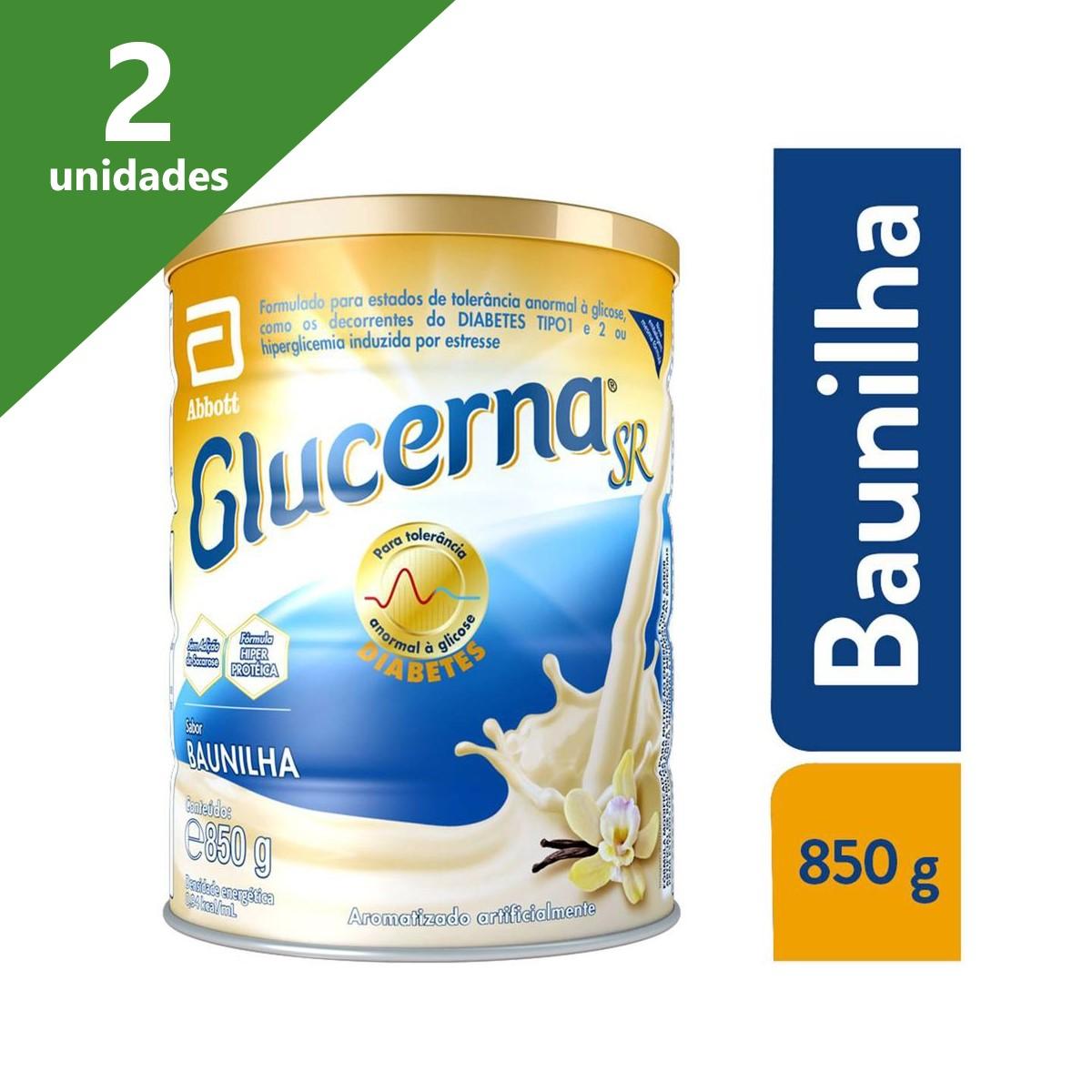GLUCERNA SR BAUNILHA 850G (KIT C/02) - ABBOTT