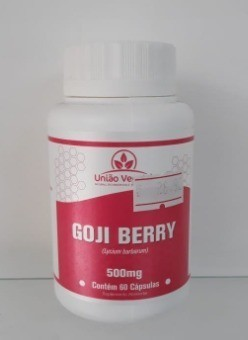 GOJI BERRY 60 CAPS 500MG - UNIAO VEGETAL