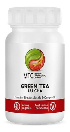 GREEN TEA LU CHA 60 CÁPSULAS 350MG - VITAFOR