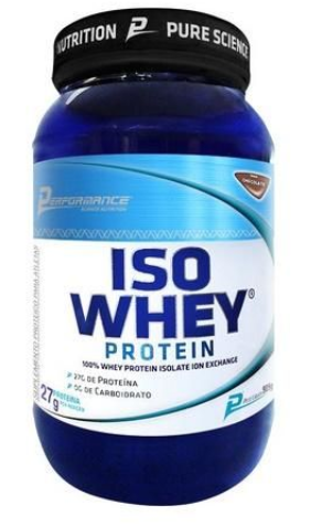 ISO WHEY BAUNILHA 909G - PERFORMANCE