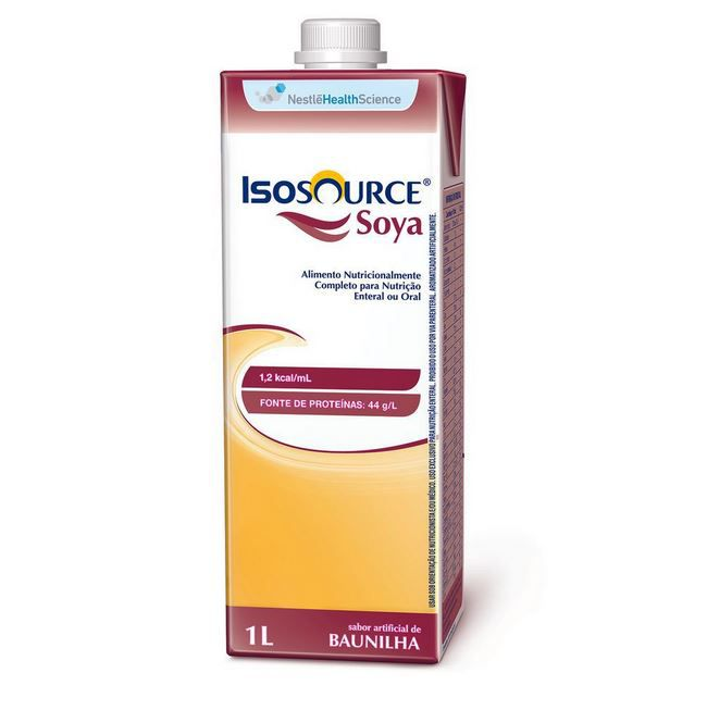 ISOSOURCE SOYA 1.2KCAL/ML 1L - NESTLÉ