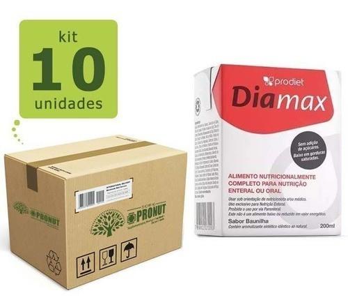 Kit Com 10 Diamax 200 ml - Prodiet