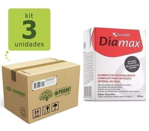 Kit com 3 Diamax 200 ml - Prodiet