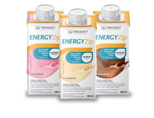 Kit com 3 Energyzip 200 ml ( Chocolate) - Prodiet