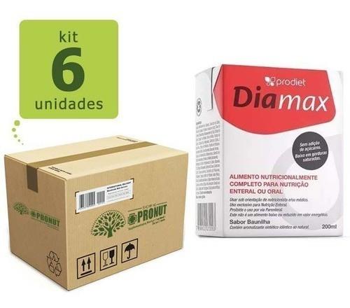Kit com 6 Diamax 200 ml - Prodiet