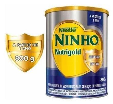 KIT NINHO NUTRI GOLD 800G (30 UNIDADES) - NESTLE