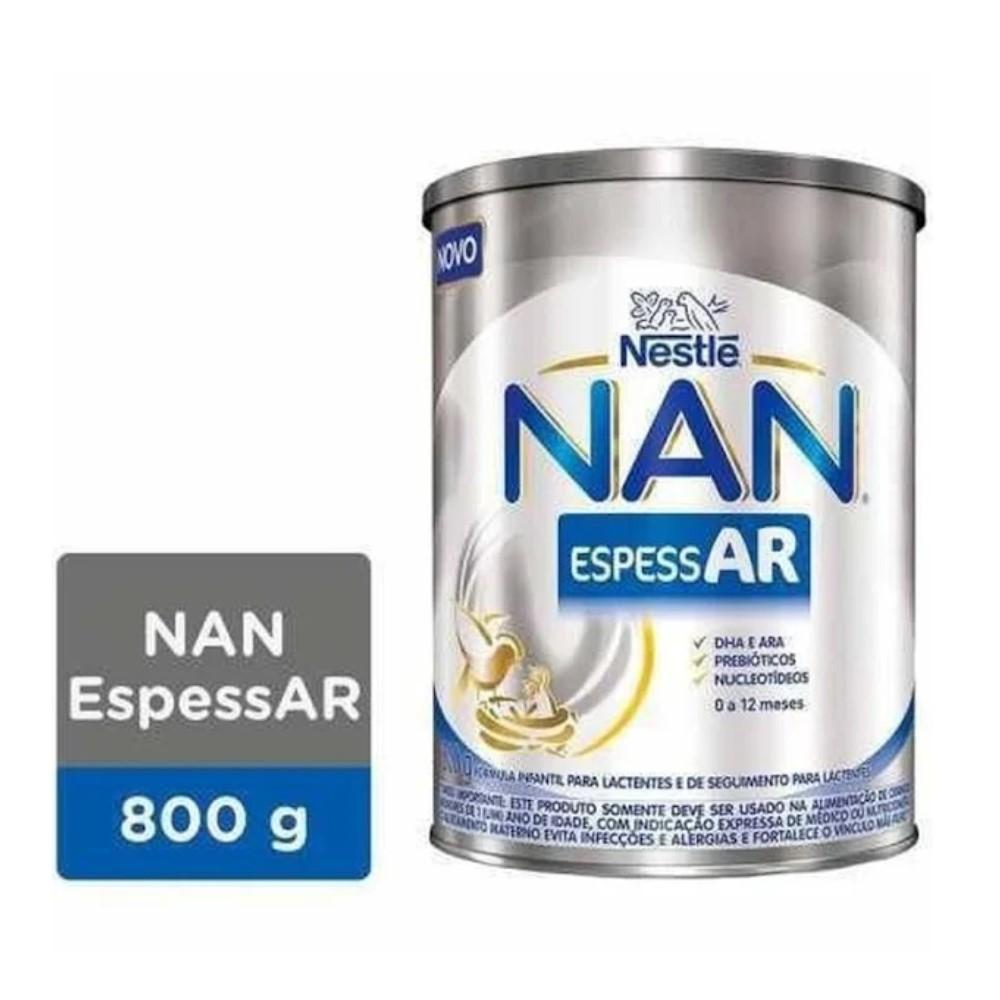 LEITE NAN AR ESPESSAR 800G - NESTLÉ