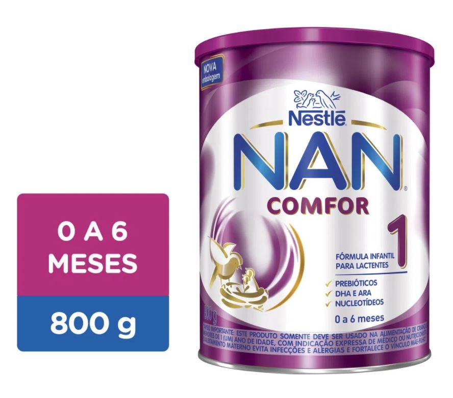 LEITE NAN COMFOR 1 800G - NESTLE