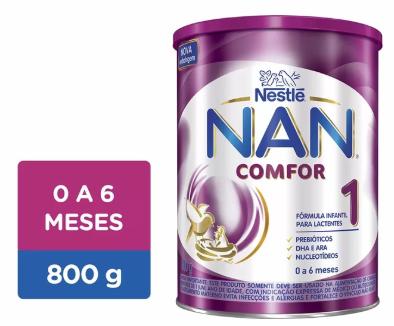 LEITE NAN COMFOR 1 800GR - NESTLE