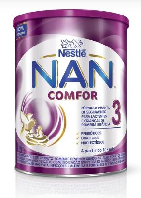 LEITE NAN COMFOR 3 800GR - NESTLE