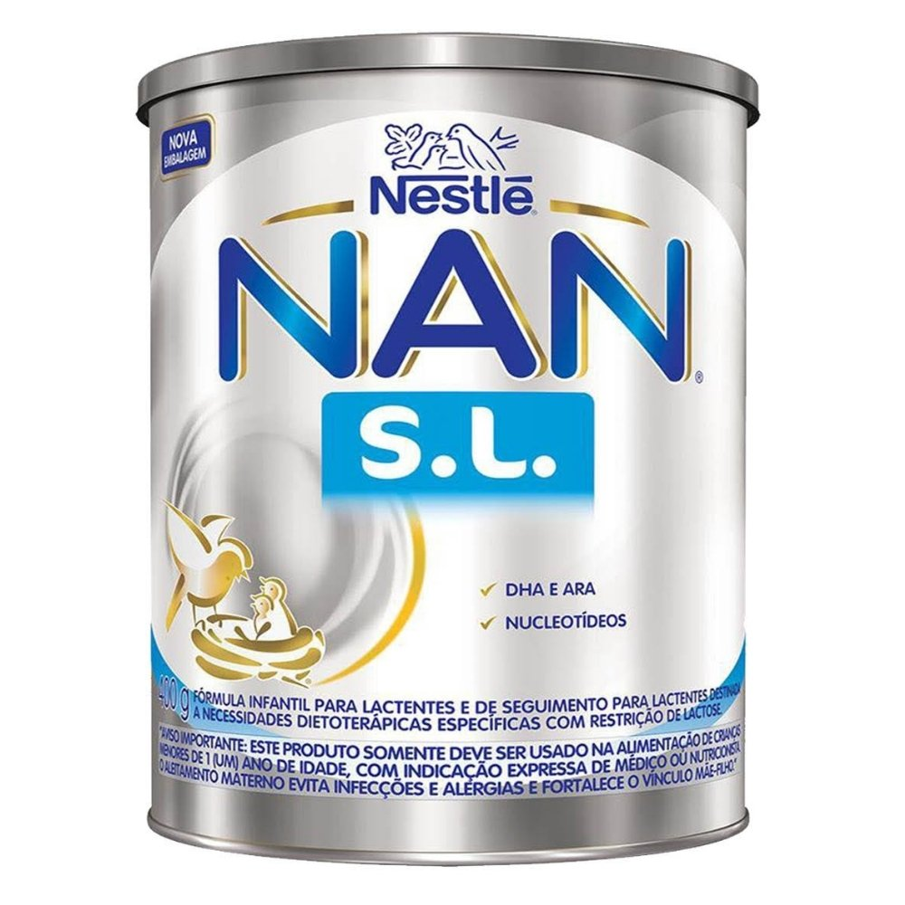 LEITE NAN SL 400G - NESTLÉ