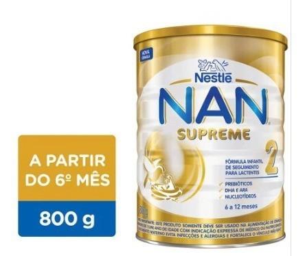 LEITE NAN SUPREME 2 800G - NESTLE