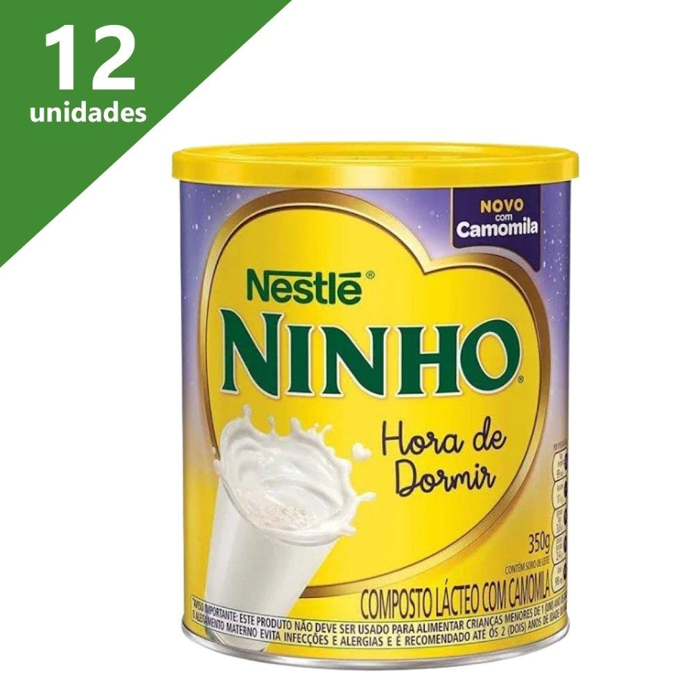 LEITE NINHO HORA DE DORMIR CAMOMILA 350GR (KIT C/12) - NESTLÉ