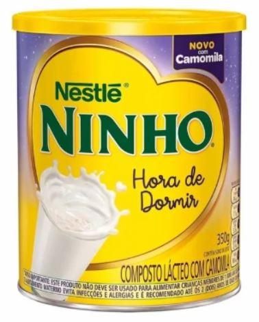 LEITE NINHO HORA DE DORMIR CAMOMILA 350GR (KIT C/12) - NESTLE