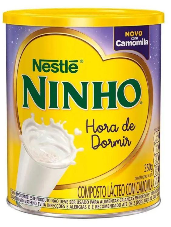 LEITE NINHO HORA DE DORMIR CAMOMILA 350GR - NESTLE