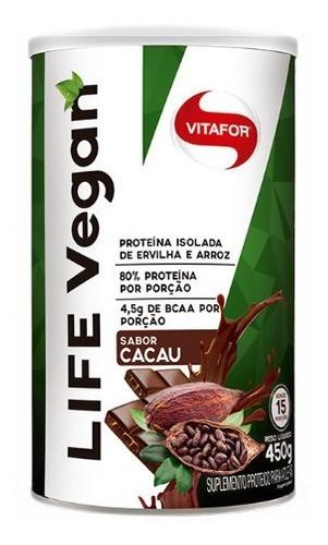 LIFE WHEY 450g Cacau - VITAFOR