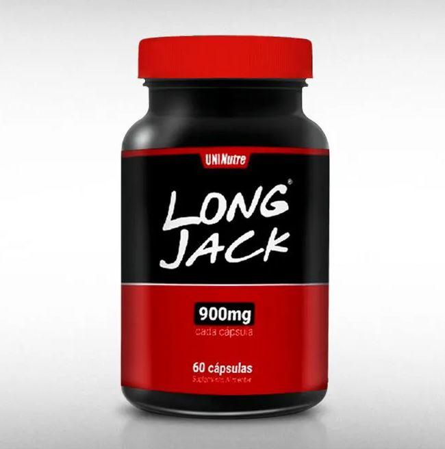 LONG JACK 900MG 60CAPS - UNINUTRE