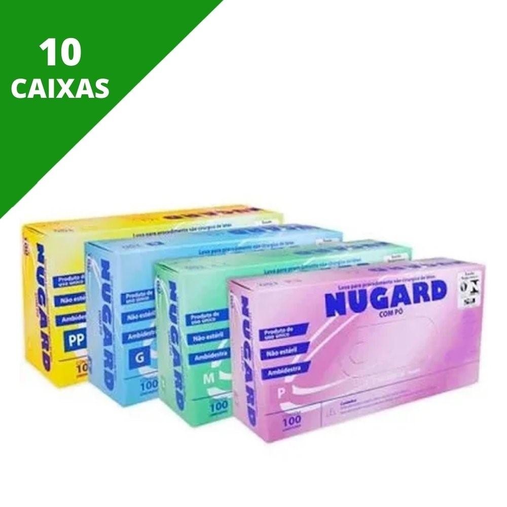 LUVA DE PROCEDIMENTO LÁTEX (C/1.000 UNDS) - NUGARD