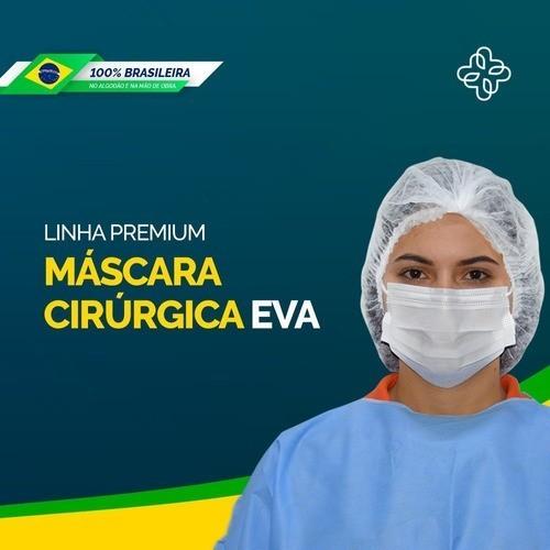 MÁSCARA DESCARTÁVEL TRIPLA BR C/ELAST.(C/50) AMERICAN MEDICAL