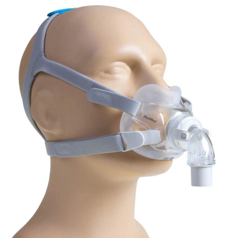 MÁSCARA PARA CPAP BIPAP FACIAL AIRFIT F30 TAM.M - RESMED