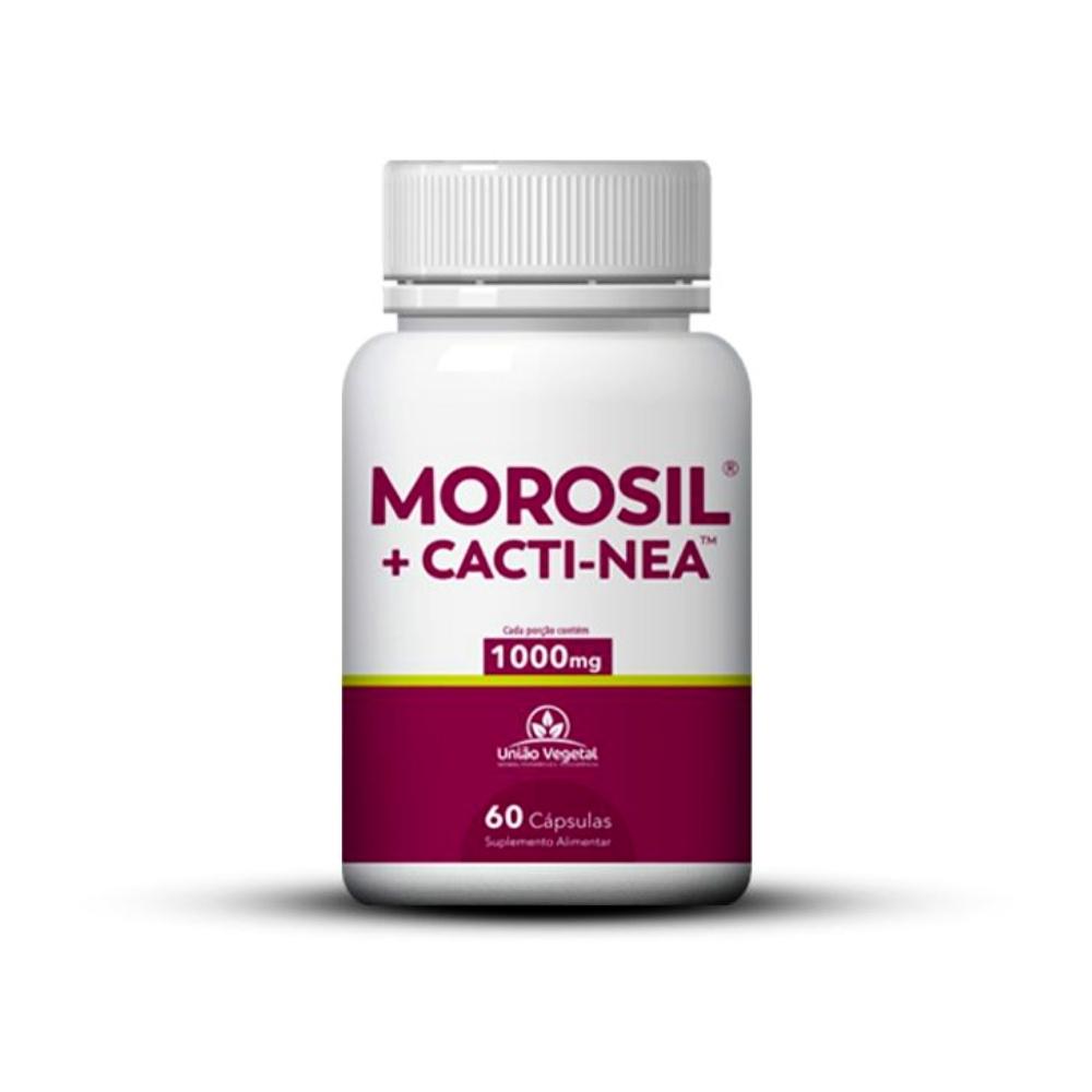 MOROSIL + CACTI-NEA 60 CÁPSULAS - UNIÃO VEGETAL