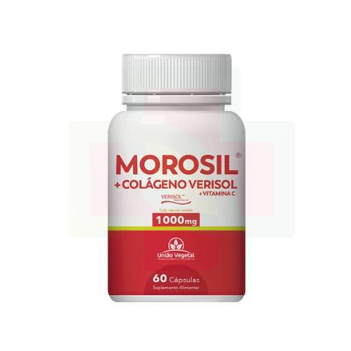MOROSIL + COLÁGENO VERISOL 60 CAPS - UNIAO VEGETAL