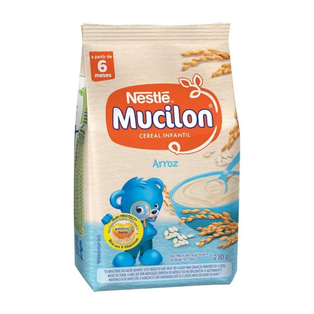 MUCILON ARROZ SACHÊ 230G - NESTLÉ