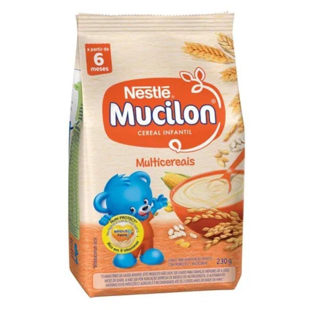 MUCILON MULTICEREAIS SACHÊ 230G - NESTLÉ
