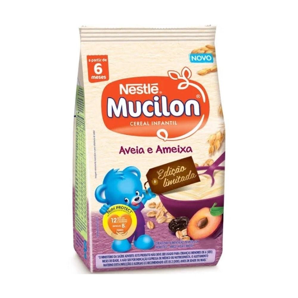 MUCILON SACHET 230GR AMEIXA E CEREAIS - NESTLÉ