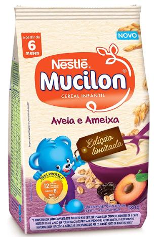 MUCILON SACHET 230GR AMEIXA E CEREAIS - NESTLE