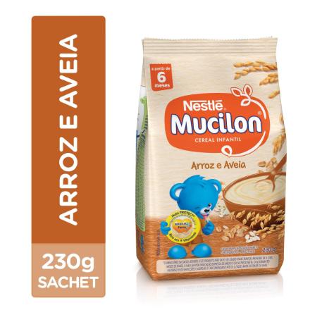 MUCILON SACHET 230GR ARROZ - NESTLE