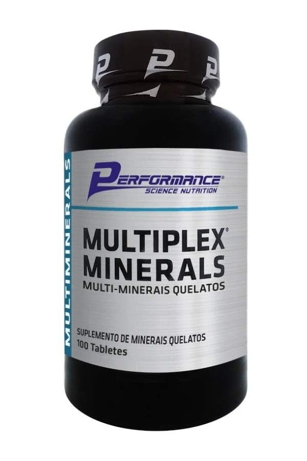 MULTIPLEX MINERAL 100 CÁPSULAS - PERFORMANCE
