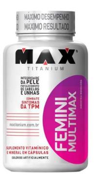MUTIMAX FEMME 60CPS - MAX TITANIUM