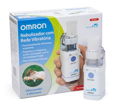 NEBULIZADOR PORTATIL MICRO AIR NE-U22 - OMRON
