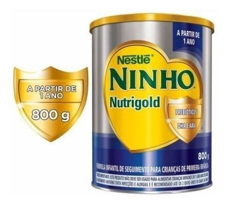 NINHO NUTRI GOLD 800GR - NESTLE