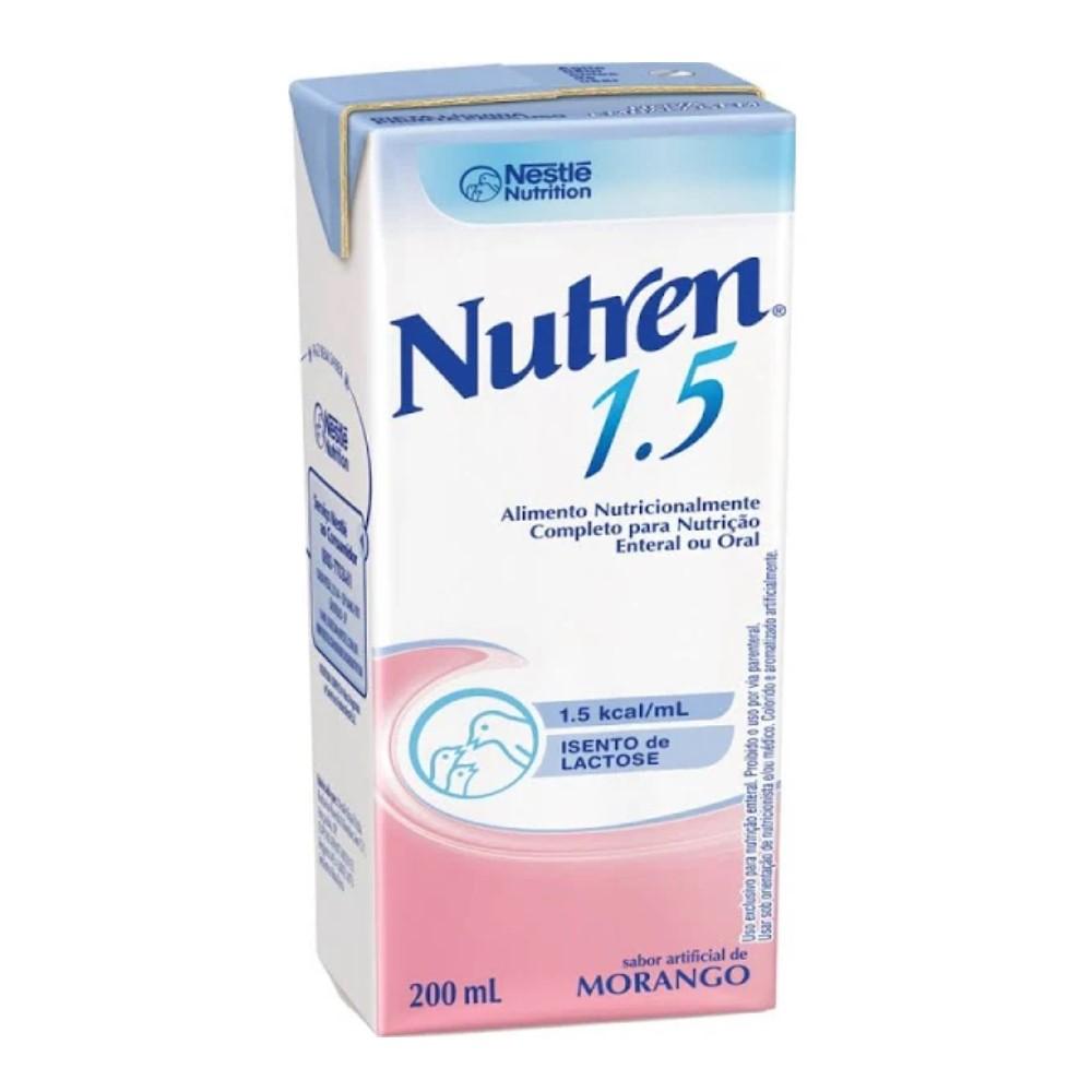 NUTREN 1.5 MORANGO 200ML - NESTLÉ