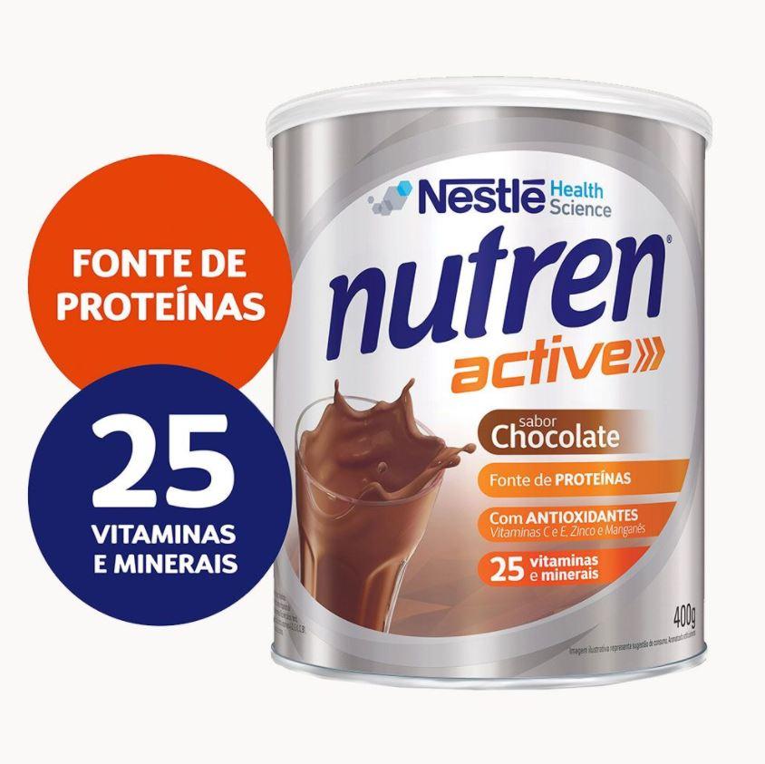 NUTREN ACTIVE CHOCOLATE 400G - NESTLE