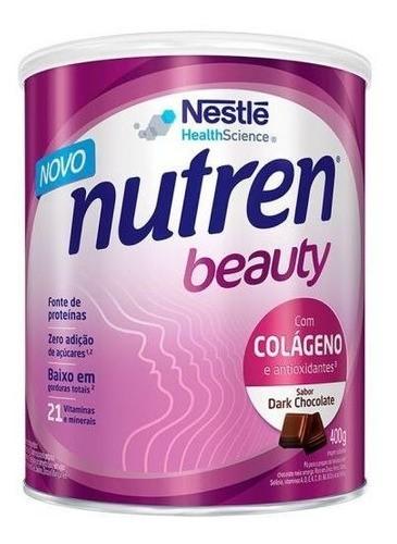 NUTREN BEAUTY DARK CHOCOLATE 400G - NESTLÉ