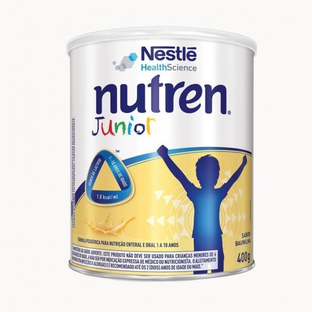 NUTREN JUNIOR 400G BAUNILHA - NESTLE