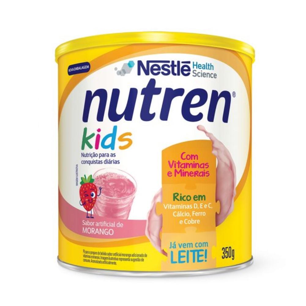 NUTREN KIDS CHOCOLATE 350G - NESTLÉ
