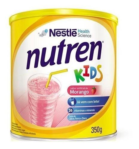 NUTREN KIDS MORANGO 350G - NESTLÉ